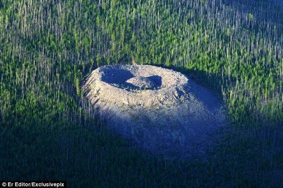 Mistério: o que criou o 'Ninho da Águia' na Sibéria?