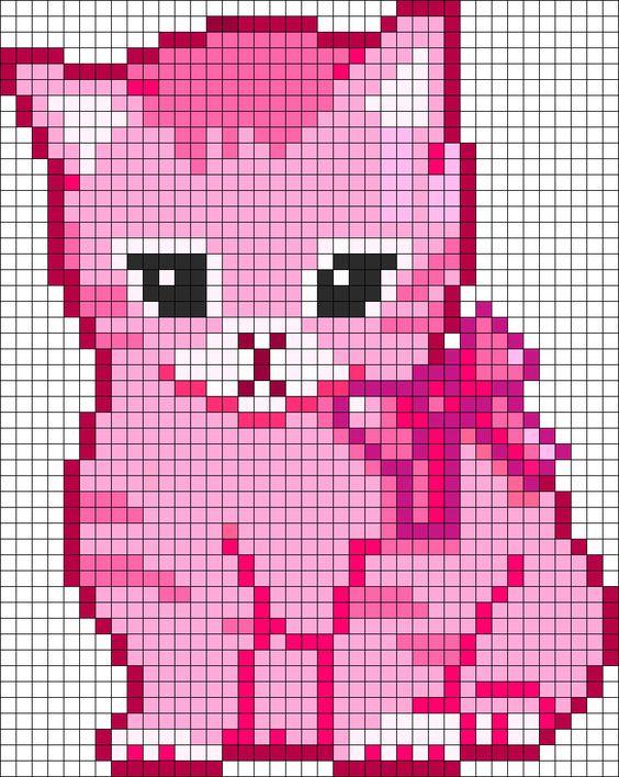 Pixel Art Chaton