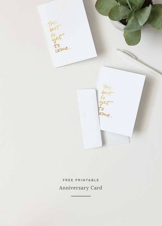 printable anniversary card   almost makes perfect