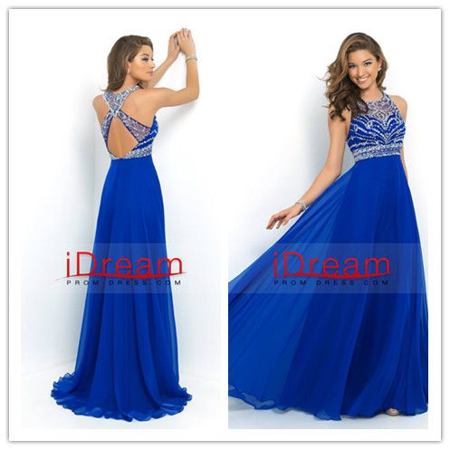 2015 Halter A-Line/Princess Prom Dresses Tulle - See more at: http://www.idreampromdress.com
