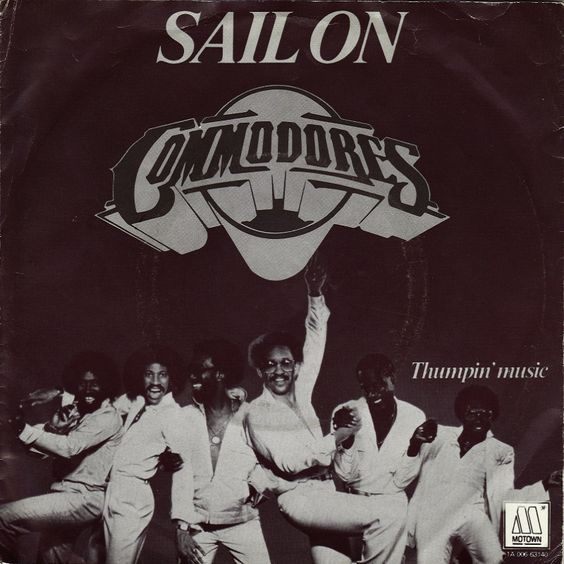 Commodores – Sail On (single cover art)