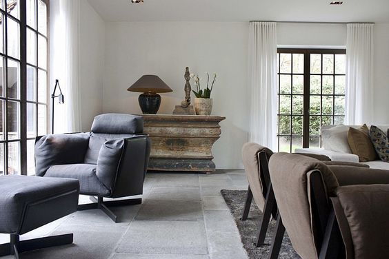 De 17 beste afbeeldingen over door om land raam en deuren - Moderne keuken in het oude huis ...