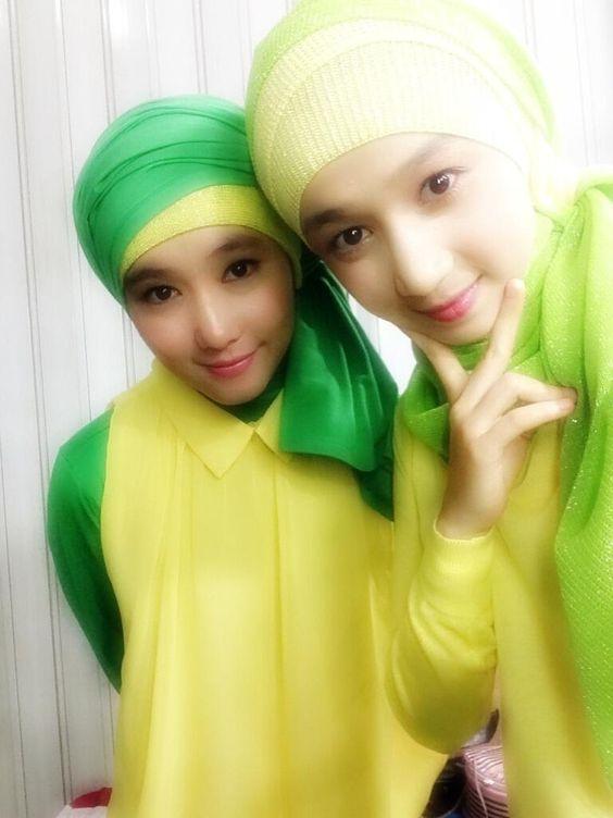 JKT48 Rezky Wiranti Dhike (Ikey) (レズキー・ウィランティ・ディケ) (イキー) Ayana Shahab (A-chan) (アヤナ・シャハブ) (アーチャン)