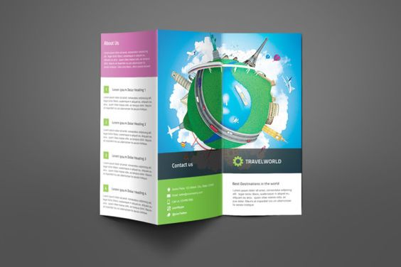 Travel Company Brochure Template 25+ Travel Brochure Template - vacation brochure template