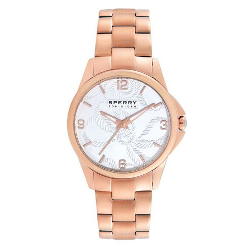 Definitely my next BIG purchase! Rose Gold Watch by Sperry.