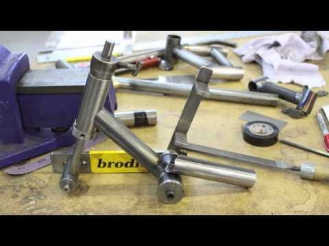 Bike Frame Building School 101.mov - YouTube
