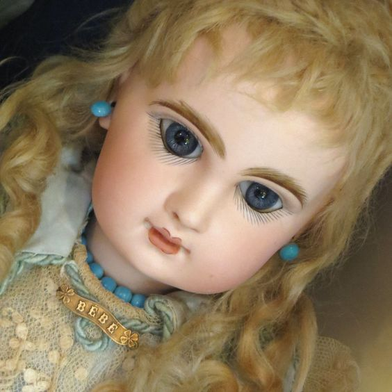 Authentic Antique 1910 FRENCH BEBE Doll Pin Jumeau Bru Fashion Vintage Jewelry