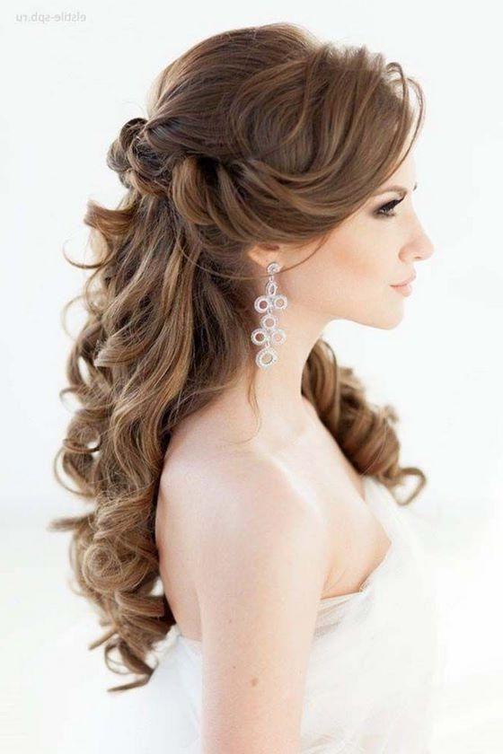 156 Peinados Para Fiesta De Dia Y Noche De Peinados Peinados Para Boda Estilos De Peinado Para Boda Peinados De Novia