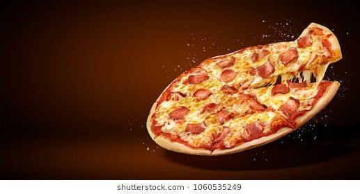 Concept Promotional Flyer And Poster For Restaurants Or Pizzerias Template With Delicious Taste Pepperoni Pizza Mozzarella Cheese And C Pizza Find Pizza Food