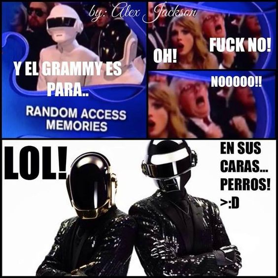 Daft Punk imagenes graciosas
