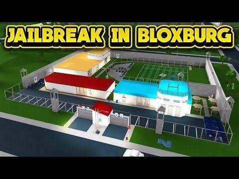 Jailbreak In Bloxburg Roblox Bloxburg Youtube Roblox What