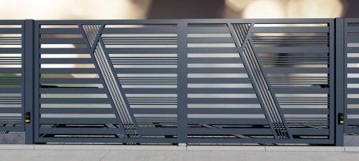 Nowoczesne Ogrodzenia Panel Plot Brama 369 Soldadura Rejas