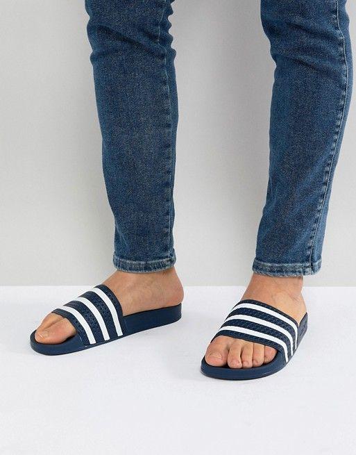 adidas Originals Adilette sliders in
