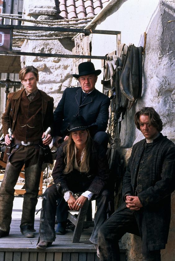 Sam Raimi's excellent western 'The Quick and the Dead' with Sharon Stone as a kick ass gunslinger! Ace.: