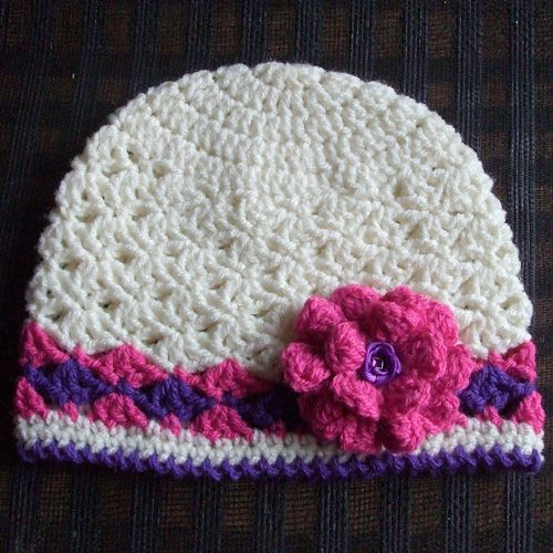 Free Crochet Pattern Spring Hat : Crochet For Children: Spring Lacy Hat - Free Pattern ...