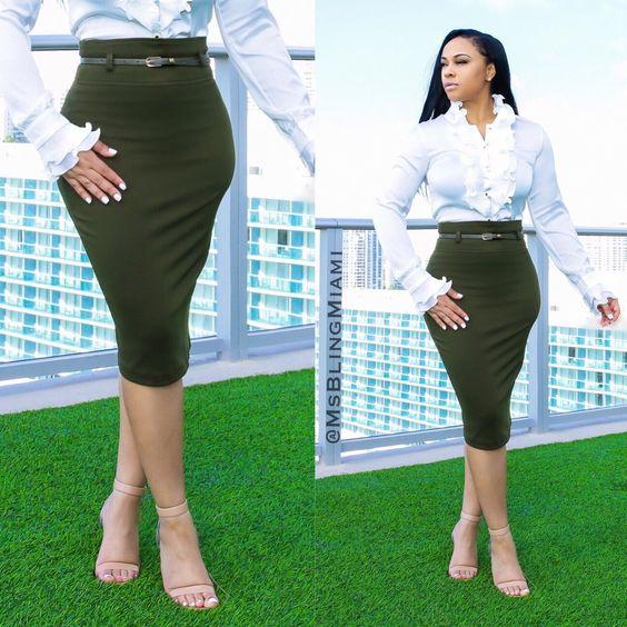 Aiko High Waist Skirt
