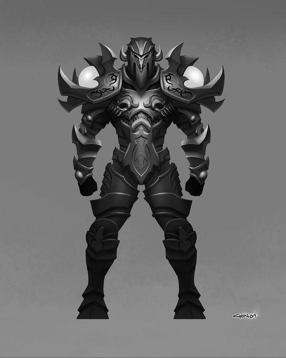 Kevin T. Chin's Art Journal: Fantasy Armor Designs
