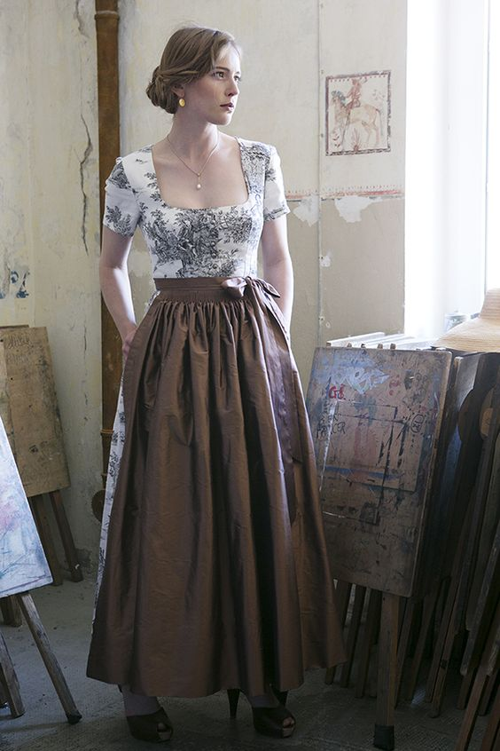 Dirndl, Middle and Modern on Pinterest