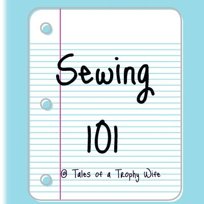 Sewing 101-Lesson 1: Supplies and Basic Envelope Pillow    I love to sew. People tell me all the time that they would love to learn to sew and I thought it would be a fun series for the blog.  Each Friday, I will post some sewing tips, as well as a simple project that you can work on to try out your new skills. I am designing the series so that each lesson will build on each other.