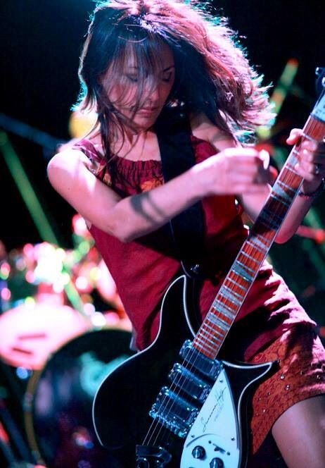 """Susanna Hoffs (born: January 17, 1959, Los Angeles, CA, USA) is an American singer, guitarist and actress. She is best known as a co-founder and leader of The Bangles. The Bangles were a popular female band in the 80's. They scored hits with """"Manic Monday"""", """"If She Knew What She Wants"""", """"Walk Like An Egyptian"""", """"In Your Room"""", """"Eternal Flame"""" and more. Susanna Hoffs went to pursue a solo careers and released the albums """"When You're A Boy"""" (1991) and """"Susanna Hoffs"""" (1996)."""