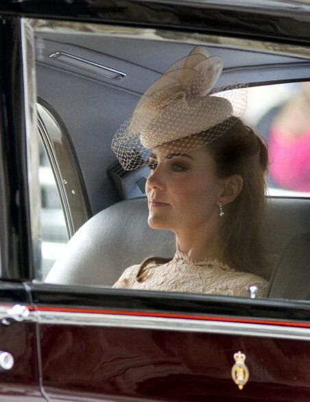 Diamond Jubilee Service of Thanksgiving at St. Paul's Cathedral June 5, 2012. Love this picture for Duchess of Cambridge.:
