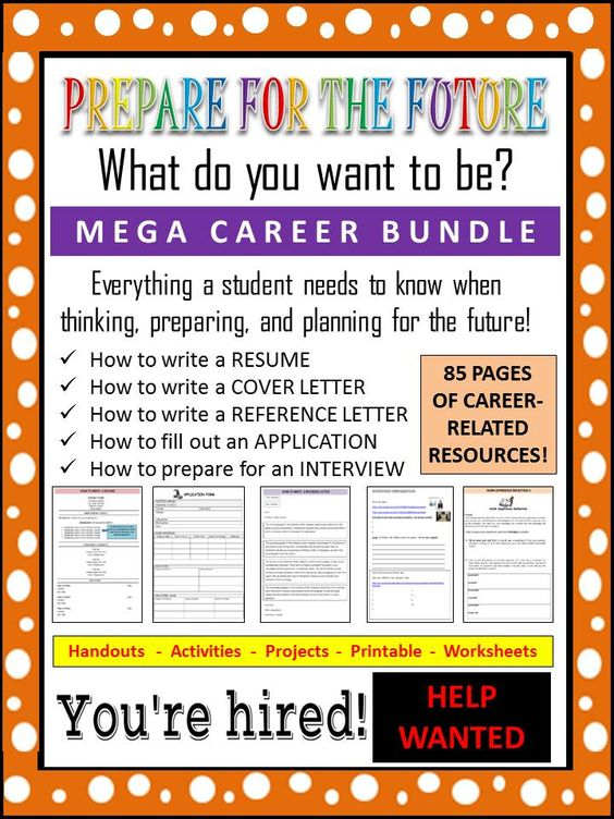 career readiness resources  application  resume  cover