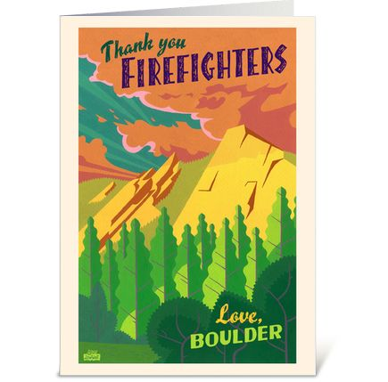 Thank #Flagstafffire firefighters for their bravery by repinning this! #cofires. All profit to firefighters $4.99