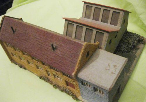 Two (2) Vintage 1920s Early German Train Buildings