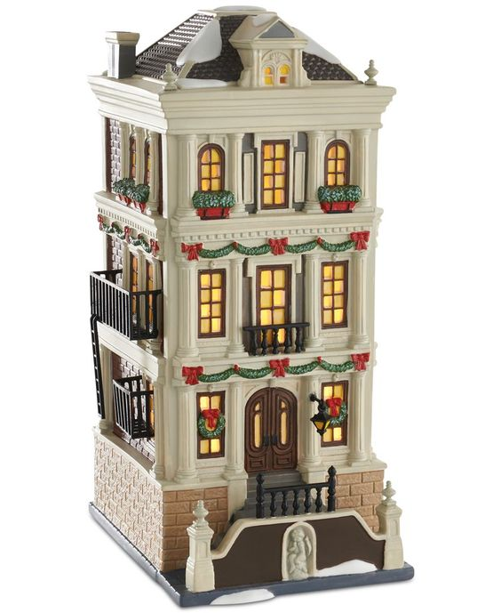 Department 56 Christmas in the City Holiday Brownstone