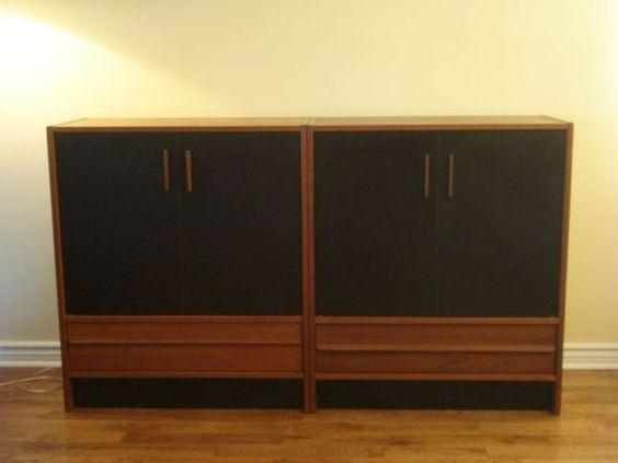 Toronto: Teak Cupboards $650 - http://furnishlyst.com/listings/46750