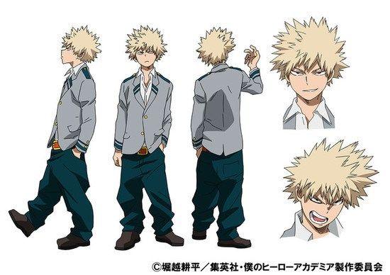 bakugou character sheet katsuki bakug� | hero academia characters, anime character