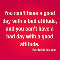 positive attitude sayings