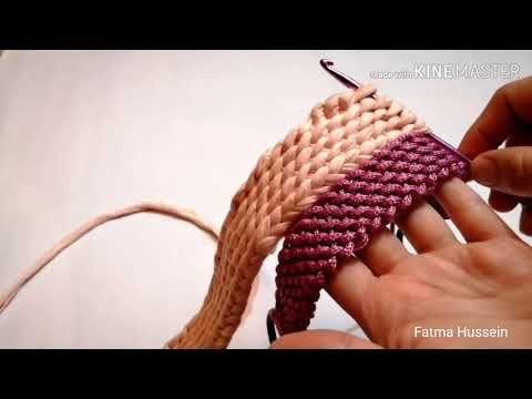 أجمل واشيك دراع ايد شنطه كروشية بخيط الكليم او السلسلة او المكرمية شيييك جدا جدا كروشية تونسي Youtube Crochet Bag Crochet Videos Crochet Tutorial