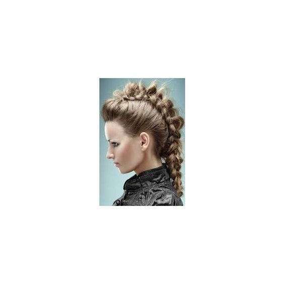 Mohawk Hairstyles ❤ liked on Polyvore featuring hair