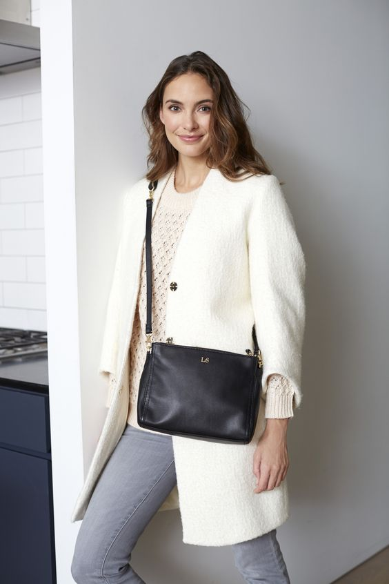 Lo & Sons - The Pearl - Leather Crossbody Bag