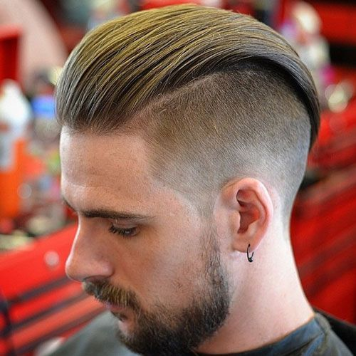 Lange lockige haare frisuren manner