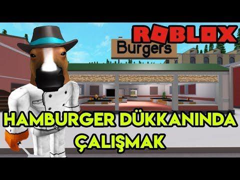 Hamburger Dukkaninda Calisiyoruz Cook Burgers Roblox Turkce Youtube Roblox How To Cook Burgers Roblox 2006