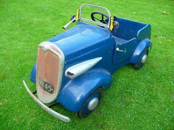 *PEDAL CAR ~ Cool blue...