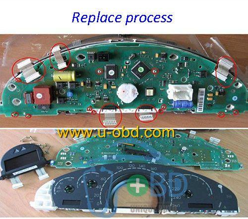 Transformer Vogt For Mercedes Benz S Class W220 Instrument Cluster Mercedes Benz Benz S Class Benz S