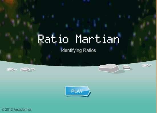 Ratio martian on line game