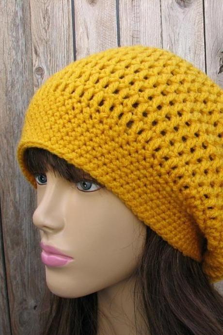 CROCHET PATTERN!!! Crochet Hat - Slouchy Hat, Crochet Pattern PDF,Easy, Great for Beginners, Pattern No. 34