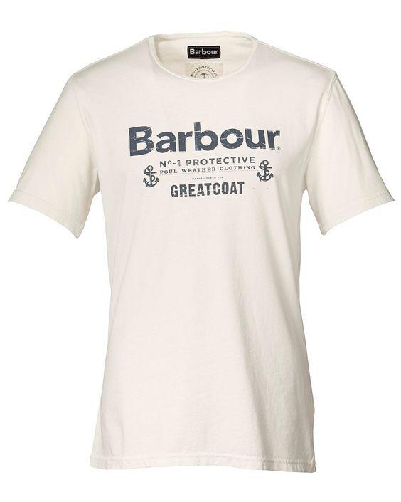 T-Shirt Protective Tee    In modisch ausgewaschener Optik und gerader Passform. Logoprint auf der Brust, Kurzarm und Rundhals.    Materialzusammensetzung:  Oberstoff: 100% Baumwolle...