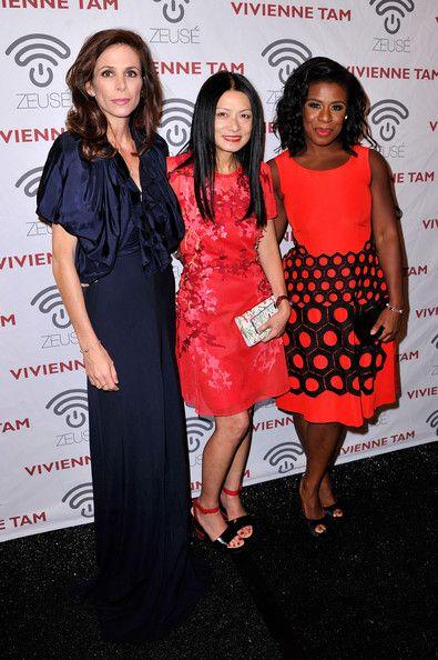 Cristina Ehrlich, Vivienne Tam and Uzo Aduba