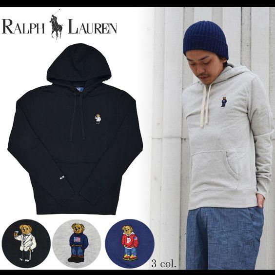 Nwt polo ralph lauren polo bear pullover hoodie sweatshirt top black size xl