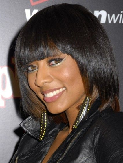 Layered Bob Hairstyles Black Women - Check out more natural, beautiful hair designs at SherrysLife.com!