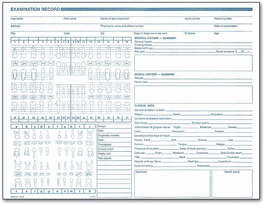 Dental Patient Forms Template Inspirational Clinical Forms Make