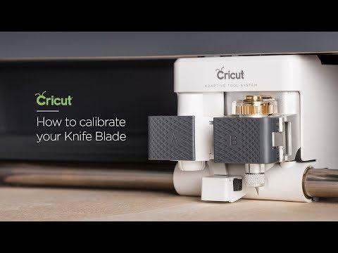 172 How To Calibrate Your Knife Blade Youtube Cricut Cricut Tutorials Scrapbooking Cricut