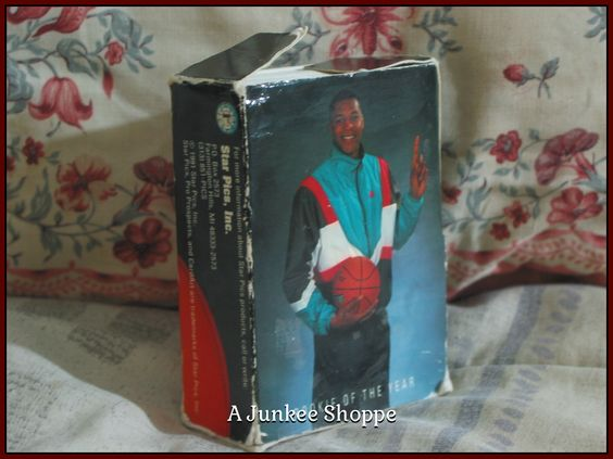 STAR PICS Basketball Pro Prospects 1991 72 Card Set Damaged Box   Junk0867  http://ajunkeeshoppe.blogspot.com/