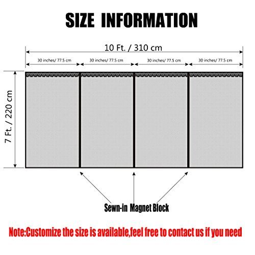 Snap On Screens 10x8 Garage Screen Magnetic Screen Door Garage Door Sizes Garage Door Insulation Kit