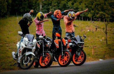 Pin By Princy Achoozz On Riders Corner Bike Pic Bike Photoshoot Biker Love Get ktm duke couple wallpaper png